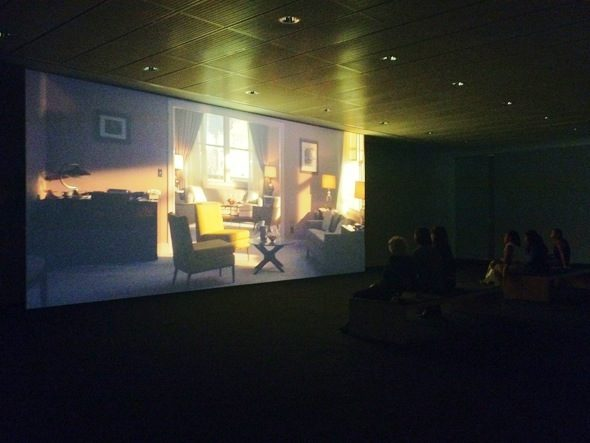 """Philippe Parreno - """"Marilyn"""", video installation; Featured at Fondation Beyeler, Basel"""
