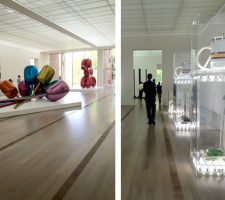 Jeff Koons exhibition at Fondation Beyeler, Basel