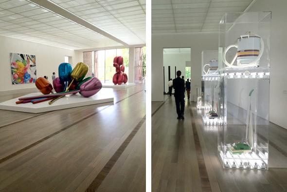 Jeff Koons exhibition at Fondation Beyeler, Basel