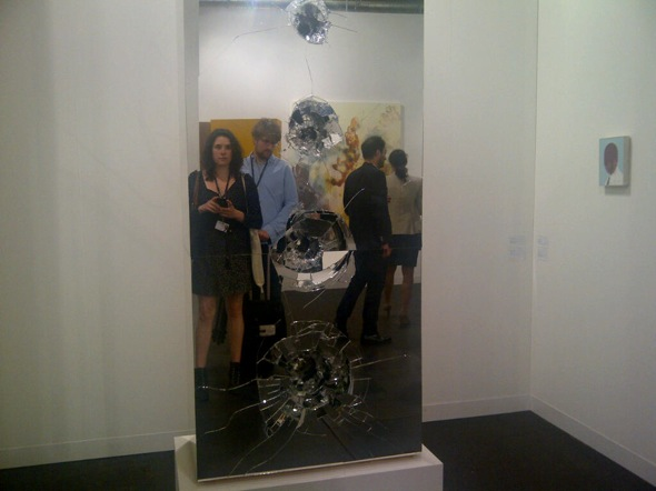 Monica Salazar and Peter Cairns at Art Basel