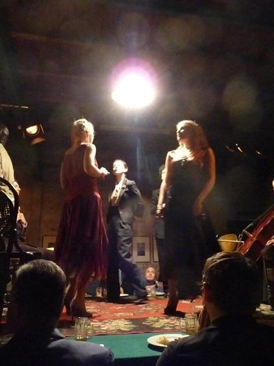 Performance by Fabio Mauri, photo: Jeni Fulton