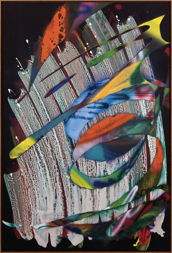 """Untitled"" (2010), Acrylic on canvas, 183 x 123 cm"