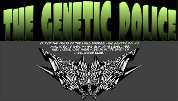 Barbara Confino - Genetic Police