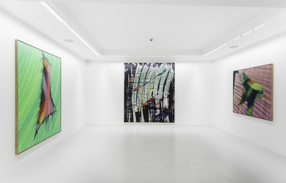 """Can You Spell Mixing"", exhibition view (2012) at DIRIMART, Istanbul"