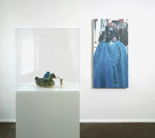 """Paul Thek and Luc Tuymans - """"Why?!"""", installation view, Photo courtesy of Luc Tuymans and Galerie Isabella Czarnowska, Berlin Photo by Jochen Littkemann"""