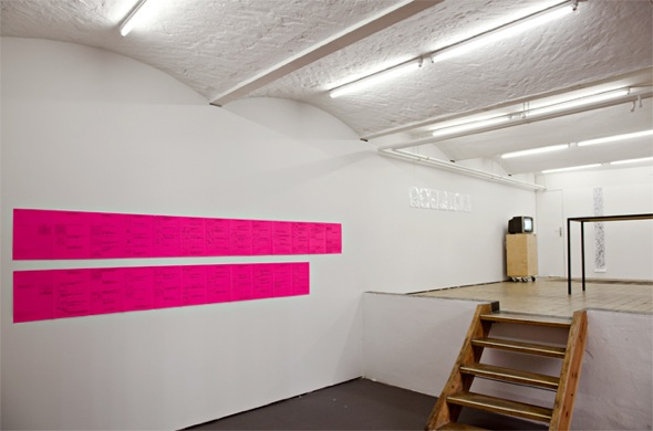 Yona Friedmann, handbuch, installation view at Chert; courtesy of Cneai