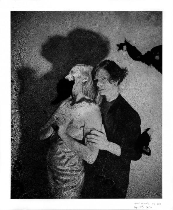 """Reynold Reynolds - """"The Lost"""" (2011), 82 x 100 cm, Digital print from a found 4x5 negative (1933), Edition 1/3"""