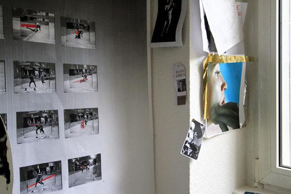 Berlin Art Link Studio visit with Kandis Williams