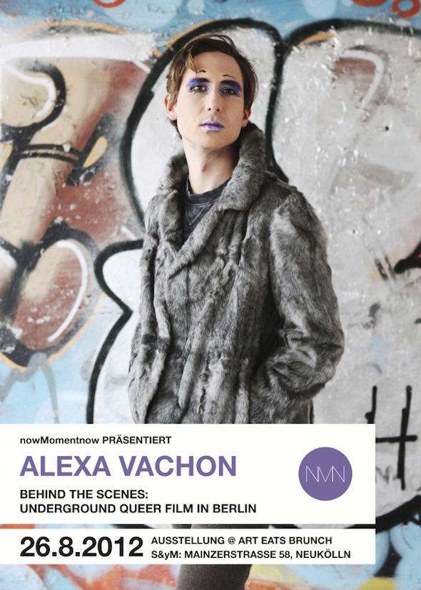 Alexa Vachon/arteatsbrunch flyer