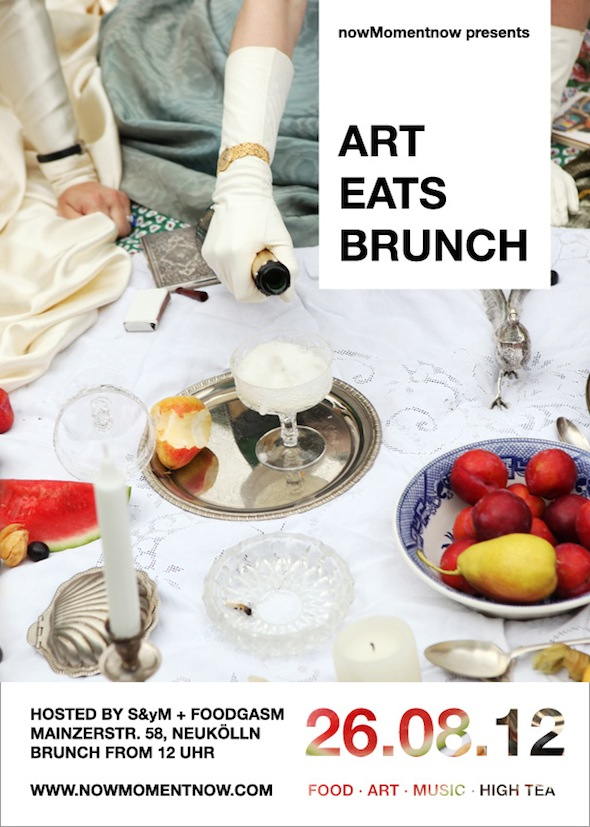 Art Eats Brunch flyer