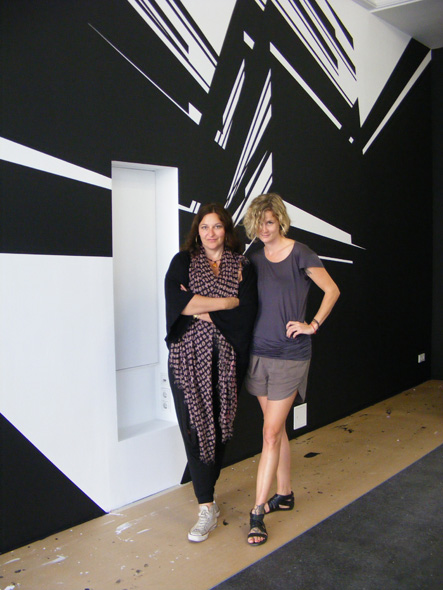 Anna Jill Lüpertz and Sophie Weiser at Epicentro Art