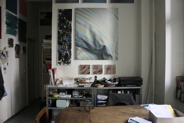 Berlin Art Link Studio Visit Michael Luther