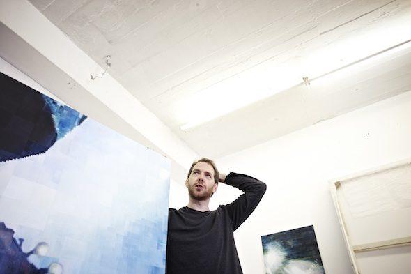 Berlin Art Link Studio Visit with Enda O'Donoghue
