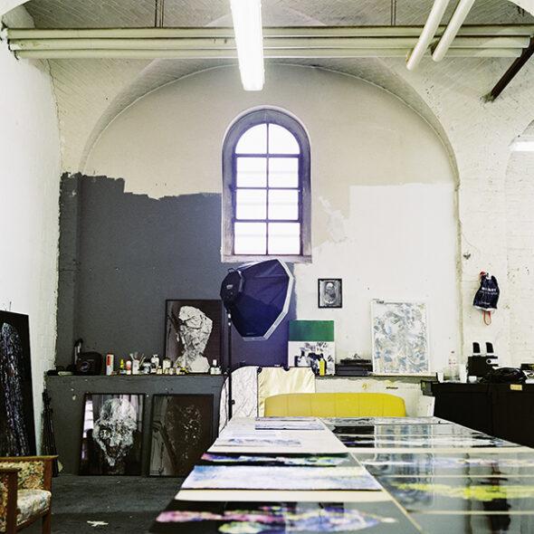 Berlin Art Link Studio Visit with Eva Maria Salvador