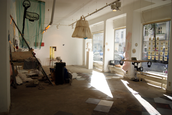 Underconstruction, installation view at Apartment Project