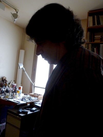 Assadour in his studio