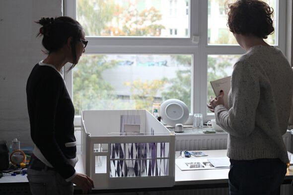 Berlin Art Link Studio Visit Sinta Werner