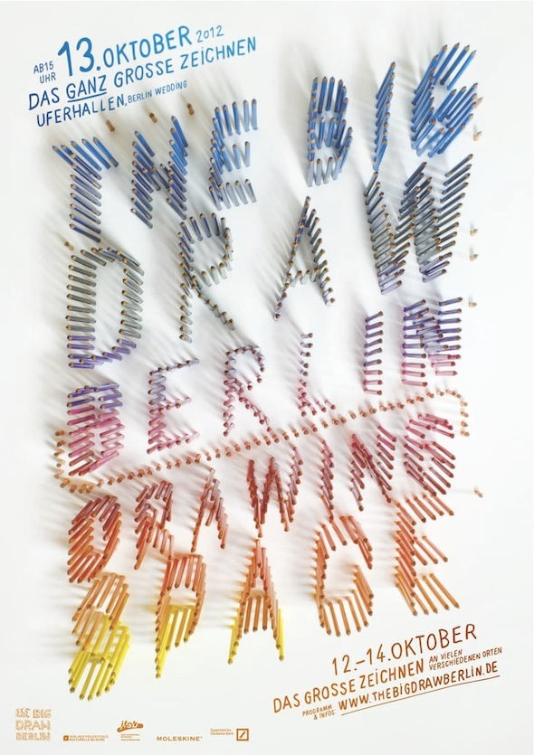 The Big Draw Berlin event poster