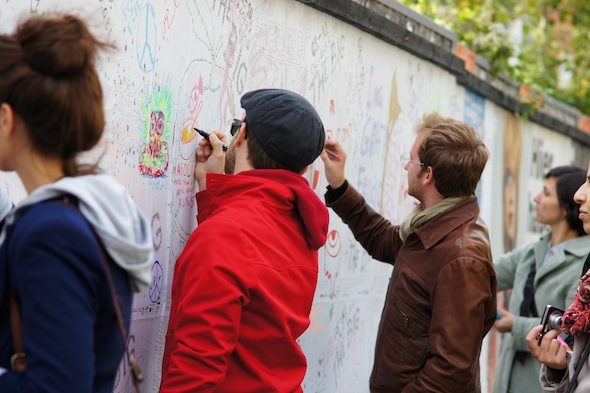 The Big Draw Berlin - drawing in public space