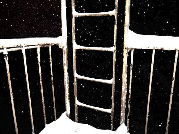 Fire-escape by Barbara Confino