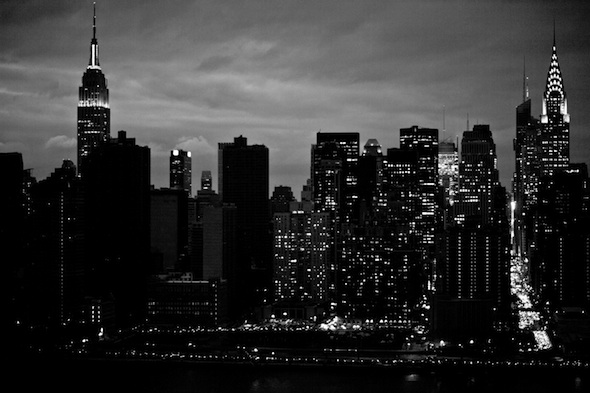 Post-Sandy Manhattan Skyline; Photo by Yubi Hoffmann ©