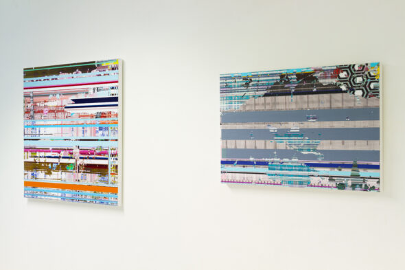 Stefan Saalfeld - Works from 'Abstract' series (2012), Courtesy of The Wand Gallery