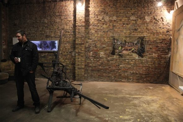 Berlin Art Link Studio Visit with David Button
