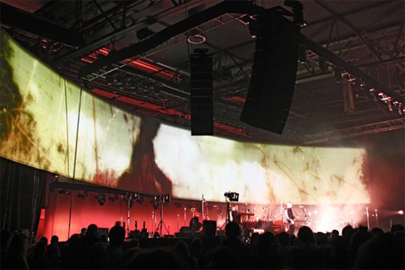 Live concert installation by Ingibjörg Birgisdóttir