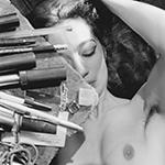 "Lee Friedlander - ""Nude"" (1982), gelatin silver print, 12 3/4 x 8 1/2 inches; © Lee Friedlander, Pace Gallery, New York and Fraenkel Gallery, San Francisco"
