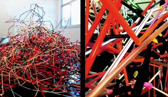 Hai Holidays, Anat Litwin, Straws and Tape, HomeBase residency at Youkobo Art Space, Tokyo