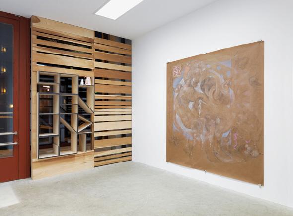 """Dirk Bell - """"Schön und Gut"""" (2013), Installation View; Courtesy of BQ Berlin, Photo: Roman Maerz"""