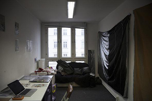 Berlin Art Link Studio Visit with Aoife Collins