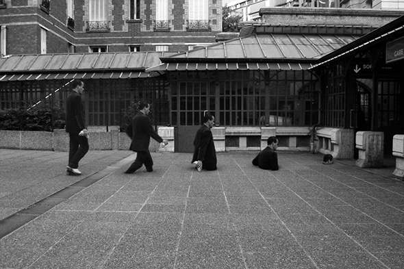 "Lee Jeongwoo - ""Gare de Boulainvilliers"""