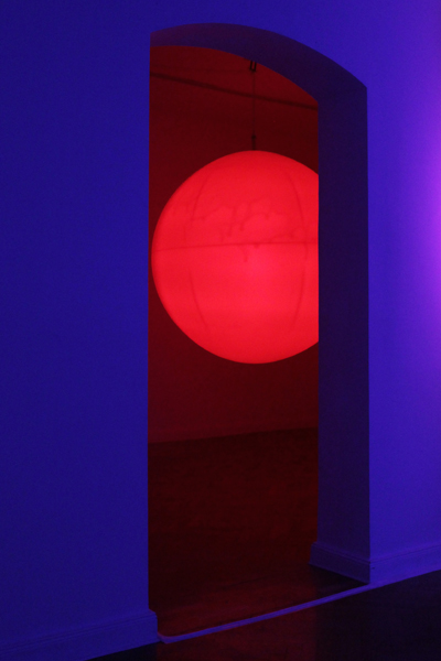 "Kite & Laslett - ""Candescence"" (2012), installation view at Import Projects"