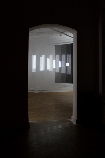 "Kite & Laslett - ""Reflex"" (2013), installation view at Import Projects"