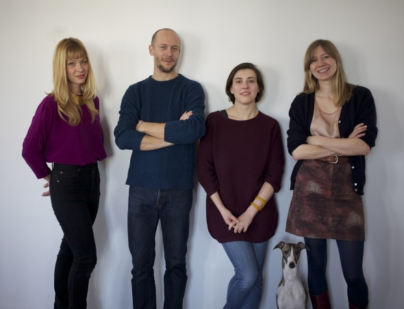 Berlin Art Prize Organizing Team, photo by Patrick Burkhardt