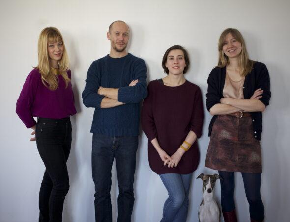 Berlin Art Prize Organizing Team, photo by Patrick Burkhardt