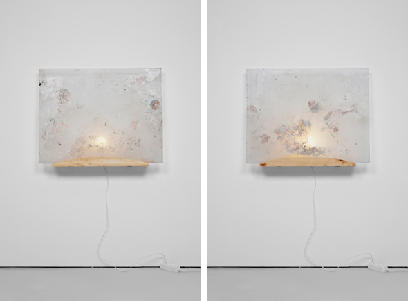 """Fredrik Værslev - """"Untitled"""" (2013); courtesy the artist and Circus, Berlin"""