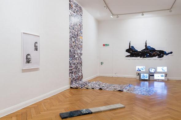 'Gordian Conviviality', installation View
