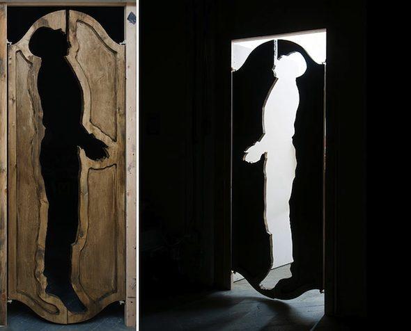 """Trong Gia Nguyen """"Zola"""" (2013) Wood doors"""
