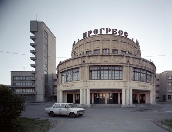 """Volker Kreidler - """"Cinema 'Progress' in Saint Petersburg""""; courtesy the artist"""