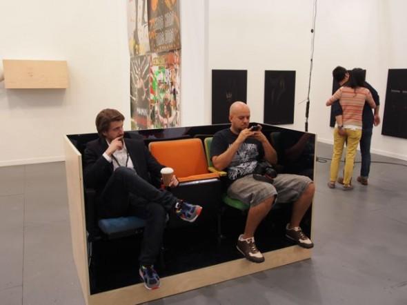 The strangest art dealer table