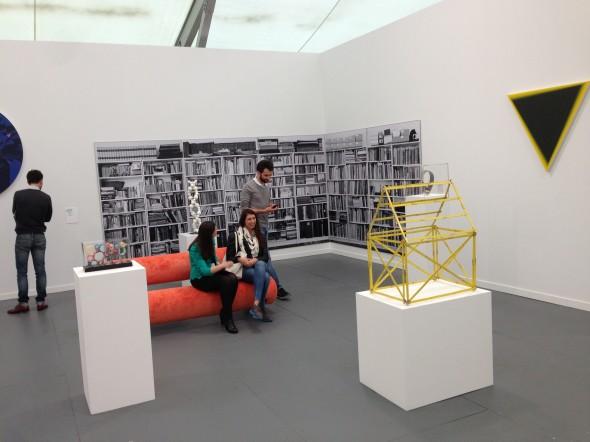 Best booth award went to Mehdi Chouarki, Berlin