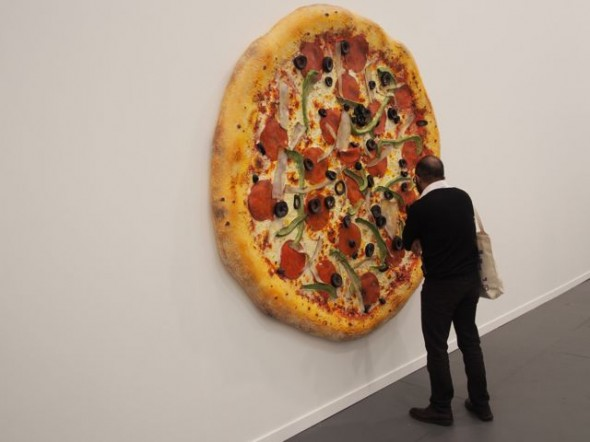 Tom Friedman's Pizza at Luhring Augustine went for $275,000