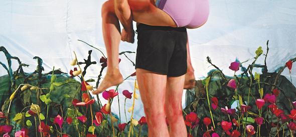 "Sabine Dehnel - ""Spaziergang III"" (2003), C-Print/Diasec/Aludibond, 130 x 280 cm; © Sabine Dehnel, VG Bildkunst"