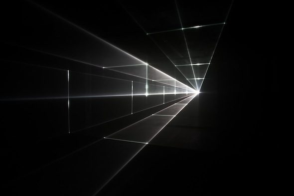 """UVA - """"Vanishing Point"""" (2013), exhibition view at The Olympus OM-D: PHOTOGRAPHY PLAYGROUND"""