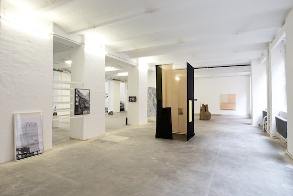 Berlin art Prize exhibition, installation view; photo:  Philipp Külker