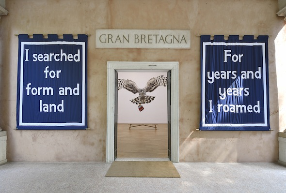 Jeremy Deller, English Magic, British Pavilion 2013; courtesy British Council, photo: Cristiano Corte