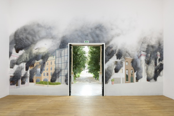 Jeremy Deller, English Magic, installation view, British Pavilion, 2013;  courtesy British Council, photo: Cristiano Corte