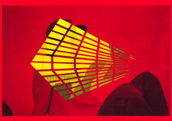 "Melissa Steckbauer - ""Marci into Christian"" (2013), cut paper, 29,75 x 21 cm; at Liebkranz Galerie"